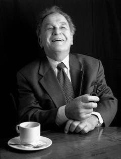 Otto Stich in einer Aufnahme von 2002. (Bild: Keystone)