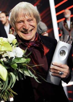 2010 wurde Dimitri zum Schweizer des Jahres gewählt und mit dem Swiss Award ausgezeichnet. (Bild: WALTER BIERI (KEYSTONE))
