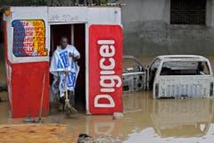 Starke Regenfälle haben Teile Haitis unter Wasser gesetzt. (Bild: Keystone)