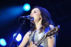 Amy MacDonald feierte am Tag ihres Auftritts ihren 25. Geburtstag. (Bild: Stefan Beusch)