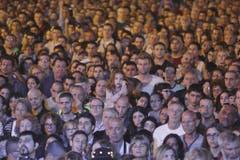 Die Organisation der Kundgebung übernahm eine Koalition israelischer Jugendbewegungen in Zusammenarbeit mit dem Tel Aviver Yitzhak-Rabin-Zentrum. (Bild: Keystone)