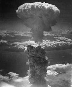 Der Atompilz über Nagasaki. (Bild: Keystone)