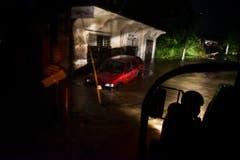 Überschwemmungen nach dem Tropensturm in Fajardo, Puerto Rico. (Bild: CARLOS GIUSTI (AP))