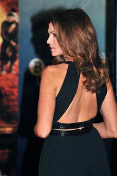Auch ein schöner Rücken kann entzücken... (Bild: Keystone)