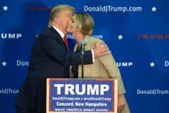 Ivanka Trump hat ihren Vater Donald während des Wahlkampfs unterstützt. (Bild: Keystone)