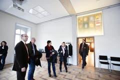 Die Räume präsentieren sich hell und mit moderner Technik ausgerüstet. (Bild: Donato Caspari)