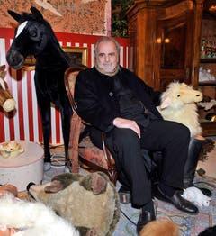 Auf Gut Aiderbichel im November 2008. (Bild: Keystone)