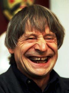 Ein Gesicht, das Geschichten erzählt: Clown Dimitri im Jahr 1999. (Bild: KARL MATHIS (KEYSTONE))
