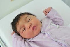 Lisa, 14.12.10 , 3820 g (Klinik Stephanshorn) (Bild: Ralph Ribi)