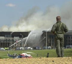 Auch das Pentagon war Ziel der Anschläge. (Bild: Keystone)