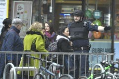 STOCKHOLM TRUCK CRASH (Bild: Keystone)