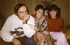 Ueli Eisenhut, Frau Roni und die gemeinsame Tochter. (Bild: Ueli Eisenhut)