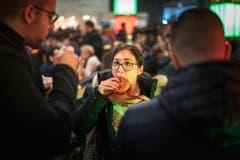 Michel Canonica / Tagblatt 23.-25. März Burger-Festival in der Olma (Bild: Michel Canonica)