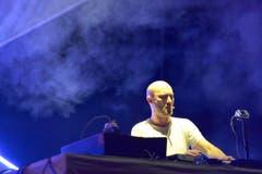 Paul Kalkbrenner bei seinem Auftritt. (Bild: Luca Linder)