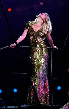 2012 trat Kate Moss an der Schlusszeremonie der Olympischen Spiele in London auf. (Bild: Keystone)