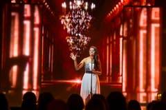 Mélanie René aus Genf ist die Stimme der Schweiz am Eurovision Song Contest in Wien. (Bild: Keystone)