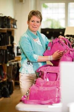 Kategorie Wirtschaft: Mit ihrem Taschenlabel 07 14 hat die 45-jährige Frauenfelderin Barbara Tschanen ins Schwarze getroffen. (Bild: TZ)