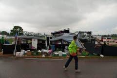 Der Sturm richtete grosse Zerstörungen an. (Bild: Keystone)