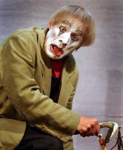 Diese Augen, dieser Mund: Dimitri 2003 im Theater am Hechtplatz in Zürich. (Bild: EDDY RISCH (KEYSTONE))