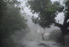 Sturm in Fajardo, Puerto Rico. (Bild: Keystone)