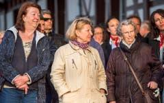 Die Romanshornerinnen und Romanshorner trugen 600'000 Franken an die neue Plattform bei - einen Viertel der Gesamtkosten. (Bild: Reto Martin)