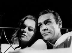 Böses Mädchen: Als Fiona Volpe macht Luciana Paoluzzi in «Thunderball» James Bond das Leben schwer. (Bild: Keystone)