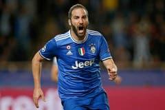 Platz 5: Gonzalo Higuain. 2016 für 90 Millionen Euro von SSC Neapel zu Juventus Turin. (Bild: Guillaume Horcajuelo / Keystone)