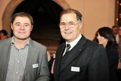 David Angst und Rainer Sigrist . (Bild: Donato Caspari)