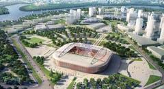 Moskau (12,2 Millionen Einwohner) Stadion: Spartak-Stadion. Kapazität: 45'360 Kosten (Neubau): ca. 420 Mio. Franken Eröffnung: September 2014 Klub: Spartak Moskau WM-Spiele: Gruppenphase (4), Achtelfinal (1) (Bild: Handout Fifa)