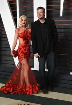Gwen Stefani ist mittlerweile mit Blake Shelton liiert. (Bild: Keystone)