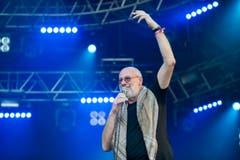 Der schottische Musiker Fish, Ex-Sänger von Marillion. (Bild: Urs Bucher)