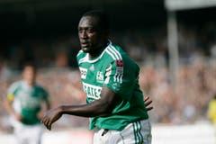 Alex Tachie-Mensah wechselte 2002 von Neuchâtel Xamax zum FC St.Gallen. (Bild: Trix Niederau)