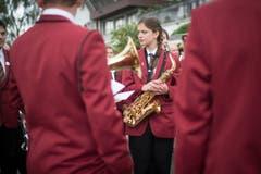 Die Musikgesellschaft Niederbüren. (Bild: Benjamin Manser)