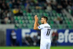 Goran Karanovic, Torschütze zum 1:0, befindet sich in blendender Form (Bild: Urs Bucher)