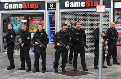 Shooting in shopping centre in Munich (Bild: Keystone)