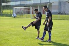 Chilenen sind Ballkünstler - das wissen Ostschweizer Fussballfans spätestens seit den Zeiten von Ivan Zamorano, Hugo Rubio und Patricio Mardones beim FC St.Gallen. (Bild: Hanspeter Schiess)