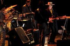 Der damals 69-jährige Dylan bei seinem ersten Konzert in China im April 2011. (Bild: Keystone)