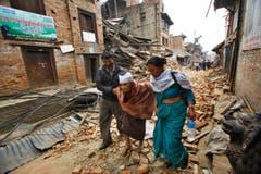 APTOPIX Nepal Earthquake (Bild: Keystone)