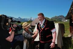 Der 26-jährige Matthias Glarner zeigt sich in der traditionellen Tracht. (Bild: www.dieboesen.ch)