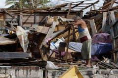 Antonio Garces in seinem zerstörten Haus in Aguacate, Kuba. (Bild: Keystone)