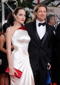 Brad Pitt and Angelina Jolie got married. (Bild: Keystone)