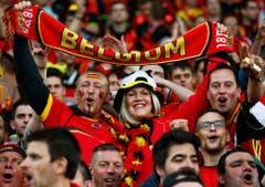 Quarter final Wales vs Belgium (Bild: Keystone)