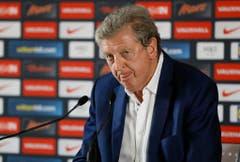 Kurz nach dem Spiel erklärte Englands niedergeschlagener Coach Roy Hodgson den Rücktritt. (Bild: Keystone)