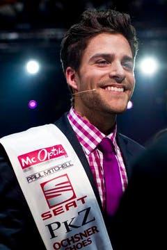 So sehen Sieger aus: Luca Ruch. (Bild: Keystone)