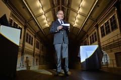 Verwaltungsratspräsident Hermann Hess glaubt an die Schifffahrt und die touristischen Chancen der Bodensee-Region. (Bild: Reto Martin)