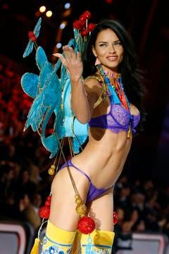Die Brasilianerin Adriana Lima. (Bild: Keystone)