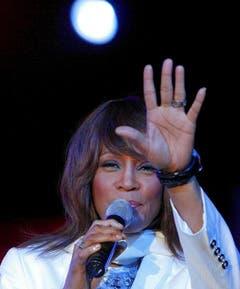 Ein Abschied in Raten: Whitney Houston 2008 bei einem Auftritt in Marokko. (Bild: Keystone)