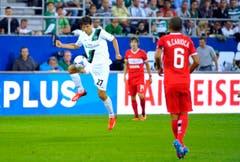 Marco Mathys, Torschütze zum 1:1 gegen Moskau. (Bild: Urs Bucher)
