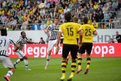 Mario Mandžukic steht bei Juventus Turin unter Vertrag. (Bild: Ralph Ribi)