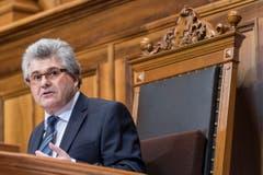 Ivo Bischofberger in Amt und Würden. (Bild: Keystone)